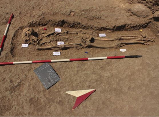 Body of 1000-year-old murder victim found in Sicily image