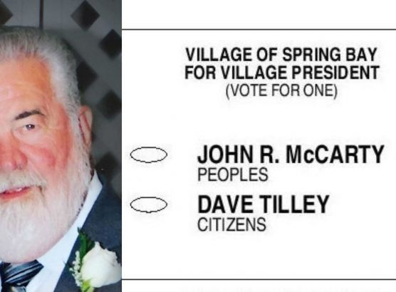 A dead man is running for village president in election in Illinois image