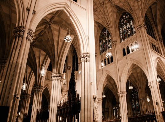 New York police arrest man with petrol in St Patrick's Cathedral in New York City image
