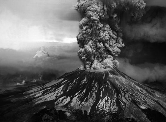 The photographs of a man who knew he was about to be killed by a volcano image