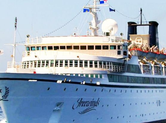 Scientology cruise ship quarantined in St Lucia after measles outbreak image