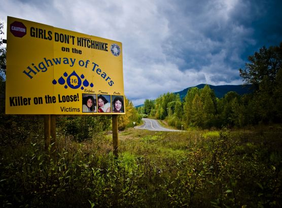At least 16 women have disappeared or been murdered along one highway in Canada image