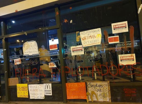 Every McDonald's in Peru shuts to mourn two young employees killed at work image