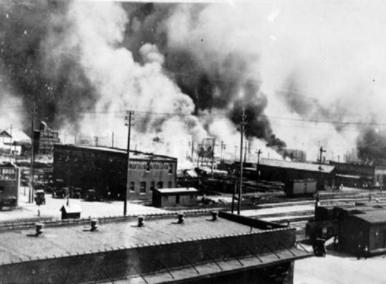 Researchers discover possible mass grave from the 1921 Tulsa race massacre image